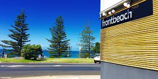 front beach is the backbone of torquay just the sizzle