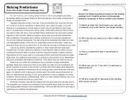 5th grade reading comprehension worksheets fifth grade week 6