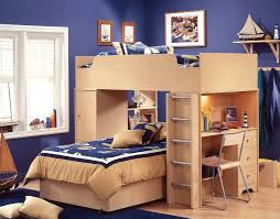 Bunk Beds With Desk Underneath Bedroom Dhp Furniture Xloft Bunk - Oak bunk beds for kids