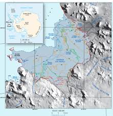 Map Of Antarctica New Usgs Study Documents Rapid Disappearance Of Antarctica U0027s Ice