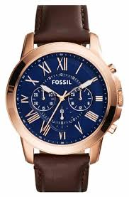 fossil steel leather bracelet images Women 39 s fossil watches nordstrom jpg