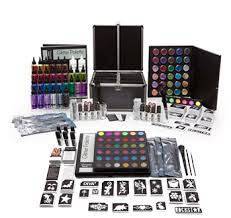 glitter tattoo kits u0026 theme packs silly farm supplies inc face