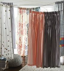 How To Make Ruffled Curtains Nursery Decors U0026 Furnitures Land Of Nod Pink Ruffle Curtains