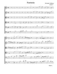fantasias for 6 viols gibbons orlando imslp petrucci music
