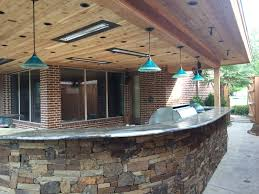 Outdoor Kitchen Lights 25 Best Modern Light Fixtures Installed By Dallas Landscape