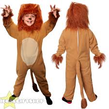 childs lion costume kids king of the jungle book character fancy