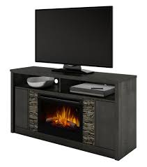 caroline electric fireplace tv stand in anthracite
