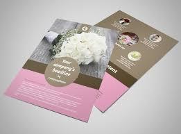 wedding flyer wedding florists flyer template mycreativeshop