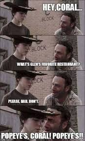 Carl Meme - 12 days of twd 9 of our favorite rick and carl memes fan fest
