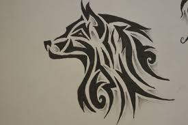 tribal wolf search pinteres