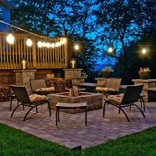 Patio Furniture Lighting Top Outdoor String Lights For The Holidays Teak Patio Furniture