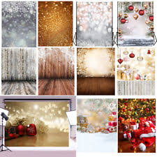 christmas backdrop christmas backdrops background material ebay