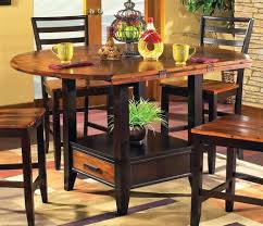 Dining Room Counter Height Tables Amazon Com Abaco Drop Leaf Counter Height Storage Table Kitchen