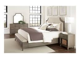 Vogue Bedroom Furniture by Riverside Furniture Vogue Queen Upholstered Bed With Storage Bench
