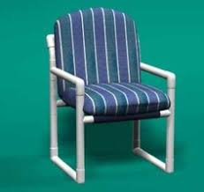 Pvc Lounge Chair Pvc Furniture No Tutorial Just This Picture Possibly
