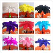 Ostrich Feather Centerpieces Online Shop 100pcs Lot 35 40cm