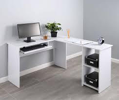ameriwood home dakota l shaped desk with bookshelves espresso pleasurable design ideas l shaped desk with side storage multiple
