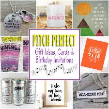 Birthday Party Cards Invitations Pitch Perfect Gifts Cards And Birthday Party Invitations Omg
