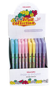 scented writing paper scented pencils student supply fruit scented pop a point pencil 8262