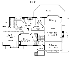 split level floor plan spacious split level 57022ha architectural designs house plans