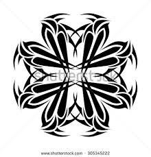 tribal cross designs vector sketch stock vector 305345222