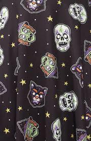 Sourpuss Shower Curtain Masks Skater Dress By Sourpuss Sale