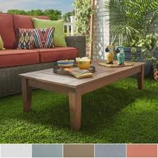 Patio Coffee Tables Outdoor Coffee Side Tables For Less Overstock