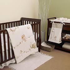 Safari Crib Bedding Set Nature S Purest Sleepy Safari 4 Crib Bedding Set Bed Bath