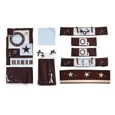 Rock N Roll Crib Bedding Lambs Rock N Roll 5 Crib Bedding Set With Bumper