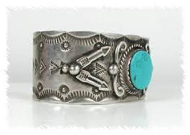 vintage turquoise bracelet images Albert cleveland navajo bracelet vintage sterling silver turquoise jpg