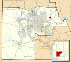 Map Of Utah And Arizona by Rio Verde Arizona Wikipedia