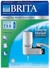 upc 060258356182 brita chrome faucet mount filtration system