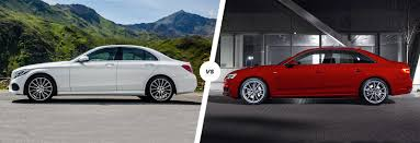 audi a4 2016 mercedes c class vs audi a4 comparison carwow