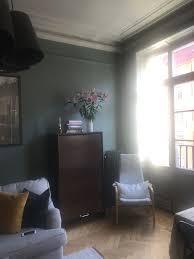 livingroom in livingroom in farrow and balls green smoke livingroom