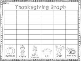 thanksgiving graph freebie in kindergarten