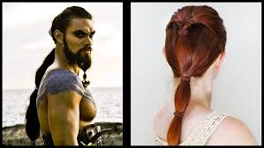 celtic warrior hair braids game of thrones hair for men drogo and dothraki styles youtube