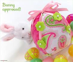 felt easter eggs soft fleece easter eggs unbreakable irresistible sew4home