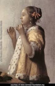 vermeer pearl necklace jan vermeer delft the complete works woman with a pearl