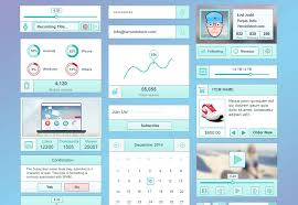 the best free ui kits february webdesigner depot idolza