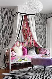 teen girls black and white bedroom design dazzle