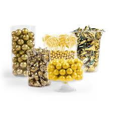 gold bulk birthday candy candy bar or candy buffet