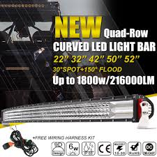 30 Curved Led Light Bar by Autofeel Curved Led Light Bar 22