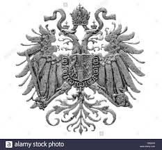 Austro Hungarian Empire Flag Coat Of Arms Of Austro Hungarian Empire From 10 Heller Coin