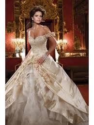 gown off the shoulder chapel train vintagewedding dresses 99901056