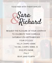 invitation wordings for marriage wedding invitation wording already married wedding invitation