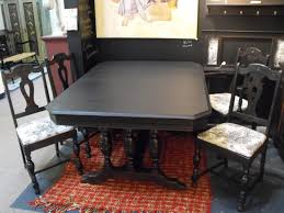 Rug Under Dining Room Table by Dining Table Fancy Dining Room Design With Rectangular Black