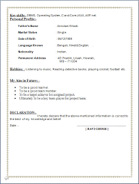 Sap Mm Resume Sample For Freshers by Professional Resume Resume Sample Of Post Graduate In Computer