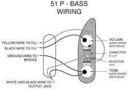 fender precision bass wiring schematic ewiring