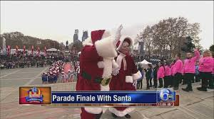 thanksgiving day parade watchers and performers 6abc