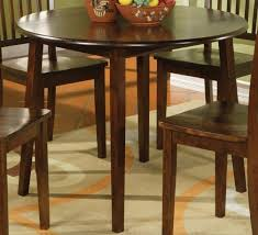 42 round pedestal dining table with leaf sewstars